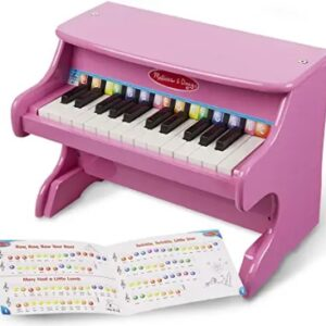 25-key Children's Wooden Piano without Chair